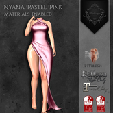 **Mistique** Nyana Pastel Pink{wear me and click to unpack)