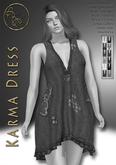 DEMO***ArisarisB&W~Karma Dress-HUD(ADD)