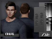 Ade - Craig Hairstyle (Greyscale)