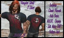 Vampire Skull T-Shirt / R.D.