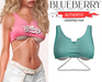 Blueberry - Authentic - Crop Tops - Mint