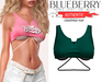 Blueberry - Authentic - Crop Tops - {Extra 1}