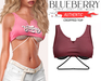 Blueberry - Authentic - Crop Tops - {Extra 4}