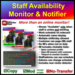Staff Availability Monitor & Notifier