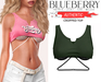 Blueberry - Authentic - Crop Tops - {Extra 7}