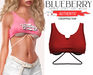 Blueberry - Authentic - Crop Tops - {Extra 9}