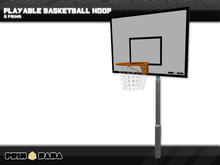 Le Cerceau de Basket-ball de Playable Scripted Garde le Score