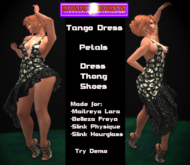 Demo BloMo Tango Dress Petals