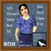GPA Women's Scoop Neck Top - Blue Vines Print - ADD to unpack