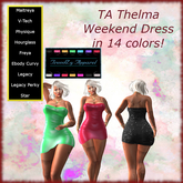 TA Thelma weekend dress
