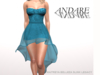 Andare - Molly Dress with Tulle Skirt Ocean