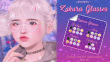 NamiiChu ~ Zakura Glasses - Fatpack