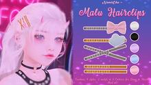 NamiiChu ~ Malu Hairpins - Fatpack