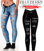 Blueberry - Authentic - Jeans - Black
