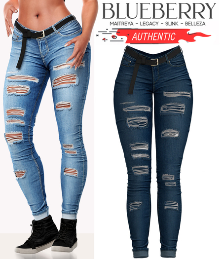 Blueberry - Authentic - Jeans - Ocean