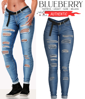 Blueberry - Authentic - Jeans - Blue