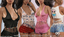 ANAIS FEMALE TOP FATPACK COLORS MESH - MAITREYA -LARA PETITE - FREYA - LEGACY - FashionNatic