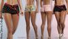 ANAIS FEMALE SHORTS FATPACK COLORS MESH - MAITREYA - FREYA - LEGACY - FashionNatic