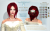 *AS Elise Updo /RED~GINGER & OMBRE/COPY & RESIZABLE