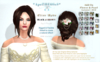 *AS Elise Updo / BLACK & BROWN / COPY & RESIZABLE
