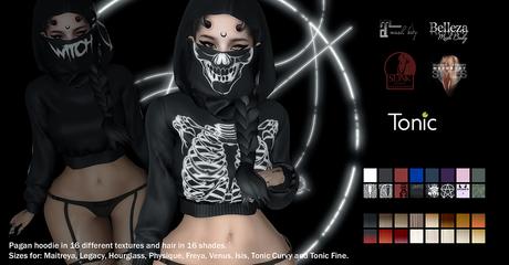 DL - Pagan - Hoodie Hair