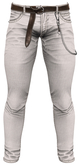 RIOT / Brody Jeans - White  | Jake / Gianni / Legacy / Slink