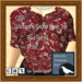 Gpa%20women's%20scoop%20neck%20top%20 %20red%20scroll%20print%20 %20ad