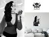 * 5th5ea5on * Scarlet / Female Vampire Portrait Wall Art