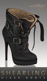 Maitreya Gold * Shearling Boots Black