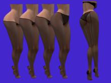 Lacy's Seam Pantyhose BoM modifiable (color change)