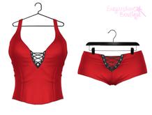 [SB] Mila Top/Shorts - Maitreya - Red