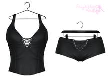 [SB] Mila Top/Shorts - Maitreya - Black