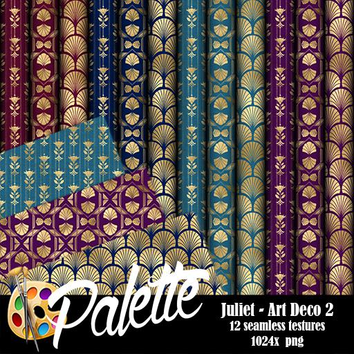 Palette - Juliet Art Deco 2