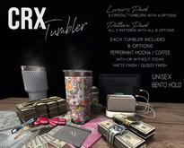 CRX-Tumbler // Solids Pack