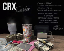 CRX- Tumbler -BLM EDITION