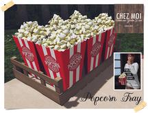 Popcorn Tray ♥ CHEZ MOI