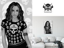 * 5th5ea5on * Jayla / Latina Female Portrait Wall Art