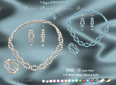 DEMO BOX *AS* Sweet Pearl Jewels Set ~ Copy/ Resizable