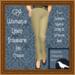 GPA Women's Trousers Linen - Tan Cream (ADD to unpack)