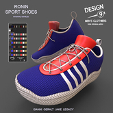 -[d9]- Ronin Sport Shoes - Fatpack