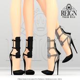 REIGN.- PSEUDO HEELS- CUSTOMIZATION PACK (unpacked)