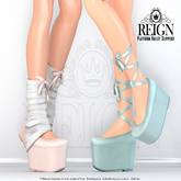 REIGN.- Platform Ballet Slippers- DEMO