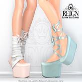 REIGN.- Platform Ballet Slippers- Customization Pack