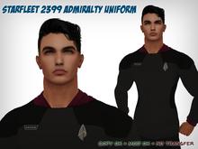 [S2S] Starfleet 2399 Admiralty Uniform (Signature)