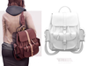 TETRA - Ellie Backpack (White & Light White)