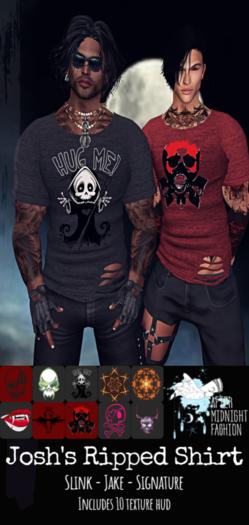::AMF:: Josh's Ripped Shirt
