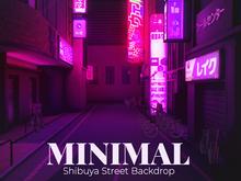MINIMAL - Shibuya Street Backdrop