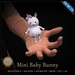 [C] Animesh Pet - Mini Baby Bunny (Wear)
