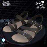 -[d9]- Kaleb Sandals - Brown