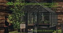 [NTC] Cannabis Greenhouse Complete Scene